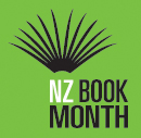 book month logo green